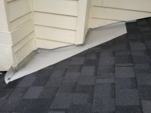 Pvc Dead Valley On A Roof Roofing Company Kirkland
